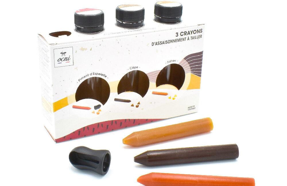 crayons épices